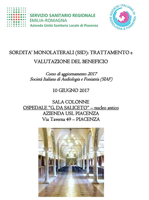 Corso SIAF Piacenza